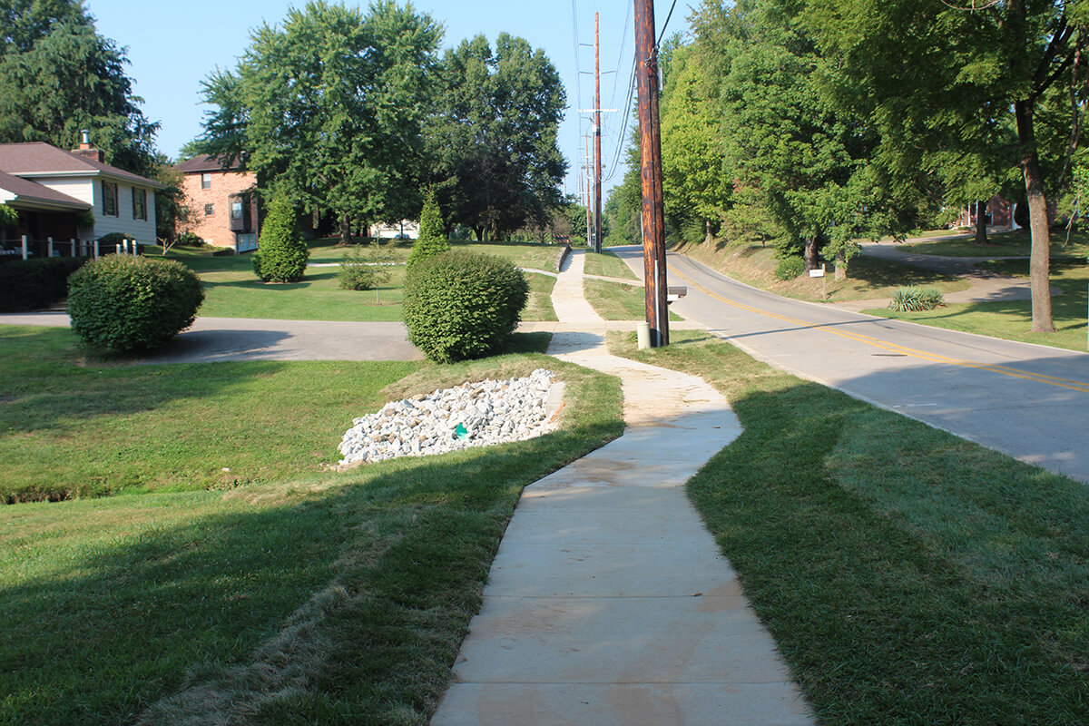 New Chapel Sidewalk
